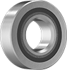 Food Industry Permanently Lubricated Stainless Steel Ball Bearings