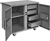 Cabinet Workbenches with Concealed Drawers