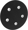 Vacuum Sanding Backup Pads with Threaded Stud for Hook and Loop Sanding Discs