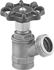 Threaded Flow-Adjustment Valves with Garden Hose Outlet