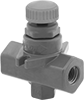 Threaded Precision Flow-Adjustment Valves for Chemicals