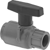 Socket-Connect On/Off Valves for Chemicals