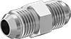 37° Flared Fittings for Stainless Steel Tubing