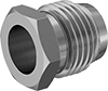 Nuts with Built-In Sleeve for Quick-Assembly Compression Fittings for Copper Tubing