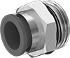 Universal-Thread Moisture-Resistant Push-to-Connect Tube Fittings for Air and Water