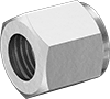 Nuts for D.O.T. Brass Compression Tube Fittings for Air