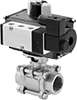 Easy-Maintenance High-Flow Air-Driven On/Off Valves