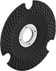 See-Through Grinding Wheels for Angle Grinders—Use on Metals