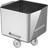 Sanitary Stainless Steel Box Trucks