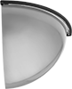 Shatter-Resistant Quarter-Dome Safety Mirrors