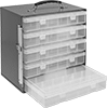 Easy-Carry Small-Parts Cabinets with Compartmented Boxes