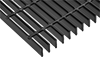 Narrow-Opening Metal Bar Grating