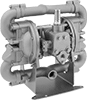316 Stainless Steel Air-Powered Transfer Pumps for Oil, Chemicals, Fuel, and Large Solids