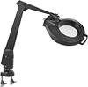Static-Control LED Clamp-On Workstation Magnifiers
