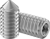 Super-Corrosion-Resistant 316 Stainless Steel Cone-Point Set Screws