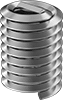 Lubricated Stainless Steel Helical Inserts