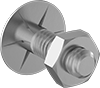 Ribbed Elevator Bolts