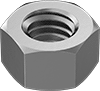 High-Temperature High-Strength A286 Stainless Steel Hex Nuts