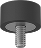 Load-Rated Threaded-Stud Bumpers
