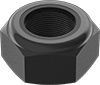 High-Strength Steel Extra-Wide Thin Nylon-Insert Locknuts