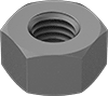 Steel Extra-Wide Hex Nuts for High-Pressure Applications