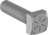 High-Strength Grade 8 Steel Square Head Screws