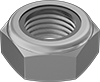 High-Strength Steel Thin Nylon-Insert Locknuts